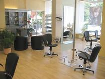 Salon Simon, Hanau - Theke